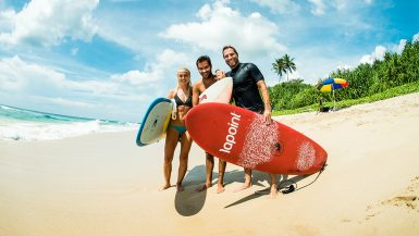 lapoint surf camp sri lanka review surfing backpacker