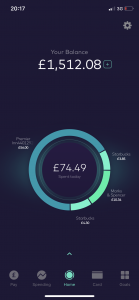 review starling bank app managing money abroad travelling backpacking