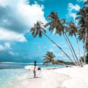 surfando no paraíso da temporada das maldivas revisão orçamento backpacker sur cokes galinhas surf camp